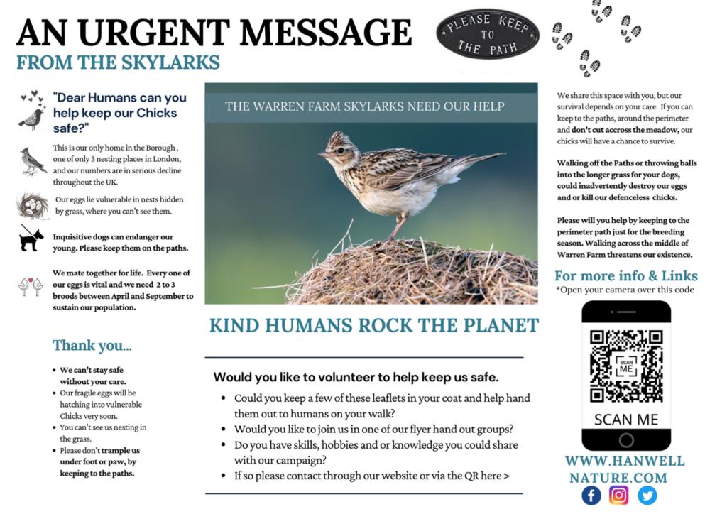April 2021 new leaflet